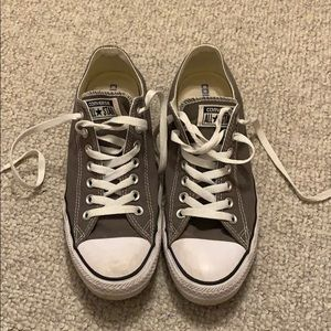Men's Converse Gray Size 8.5